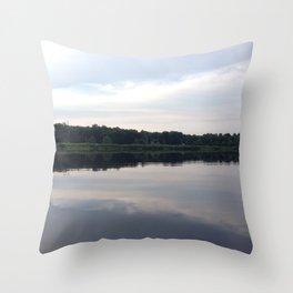 Baesic Reflective Lake Throw Pillow