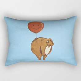 Float On, Bear, Float On Rectangular Pillow