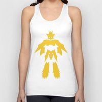 digimon Tank Tops featuring Magnamon by JHTY