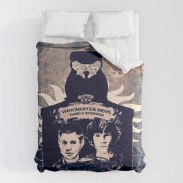 Supernatural In A Bottle Comforters