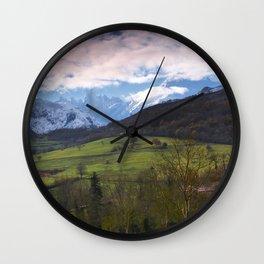 Naranjo de Bulnes (known as Picu Urriellu). Wall Clock