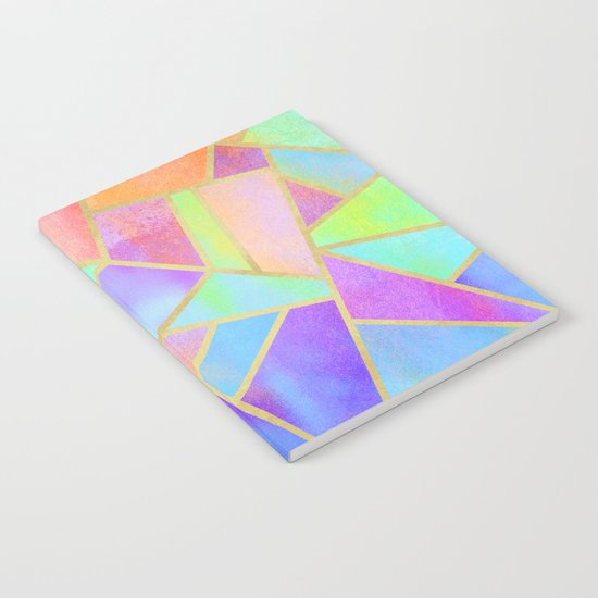 Rainbow Stone Notebook