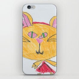 Zackie (Cat #2) iPhone Skin