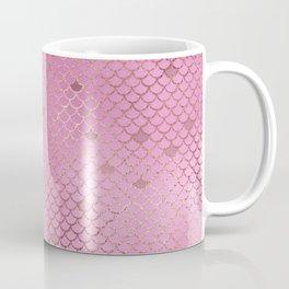 Fuchsia Mermaid Scales Coffee Mug
