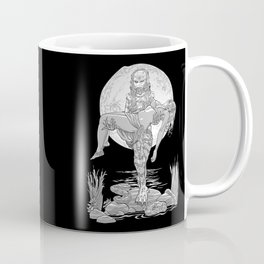She Creature from the Black Lagoon B&W Coffee Mug