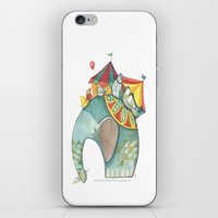 dumbo iPhone & iPod Skins featuring Dumbo  by One Golden Sun