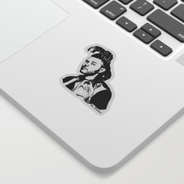 GET WITH THE WEEKEND Sticker