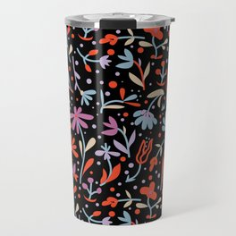 Flowers in dance Travel Mug