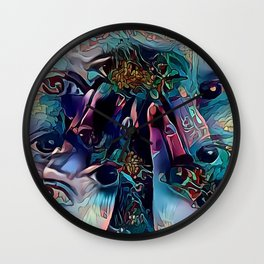 Lucid III Wall Clock