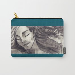 Silken Hair Carry-All Pouch