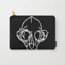Madam Salami Cat Skull Carry-All Pouch