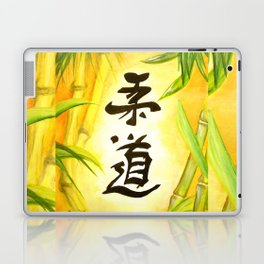 japanese JuDo - the gentle way Laptop & iPad Skin