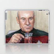 Tea. Earl Grey. Hot. Captain Picard Star Trek | Watercolor Laptop & iPad Skin