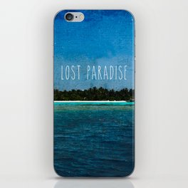Lost Paradise iPhone Skin
