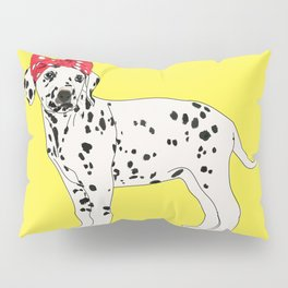 Political Pup - When We All Vote Dalmatian Pillow Sham