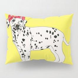 Political Pup - When We All Vote Dalmatian Dog Pillow Sham