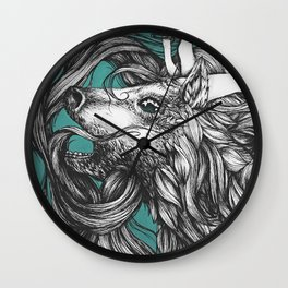 Let Me Out 2 Wall Clock