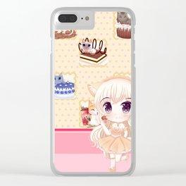 MMM Dessert! Clear iPhone Case