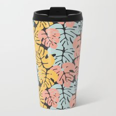 Tropical pattern 032 Metal Travel Mug