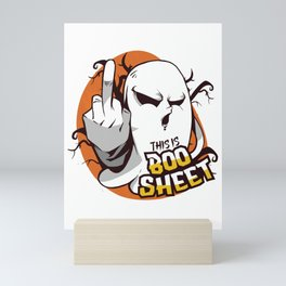 Boo Sheet Mini Art Print