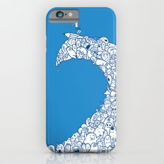 Doodle Wave iPhone 6s Slim Case