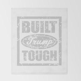 BUILT TRUMP TOUGH Throw Blanket