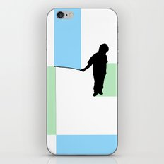 Fishing for Color iPhone & iPod Skin