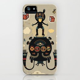 Monstertrap iPhone Case