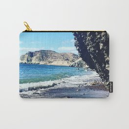 Santorini Cliff Carry-All Pouch