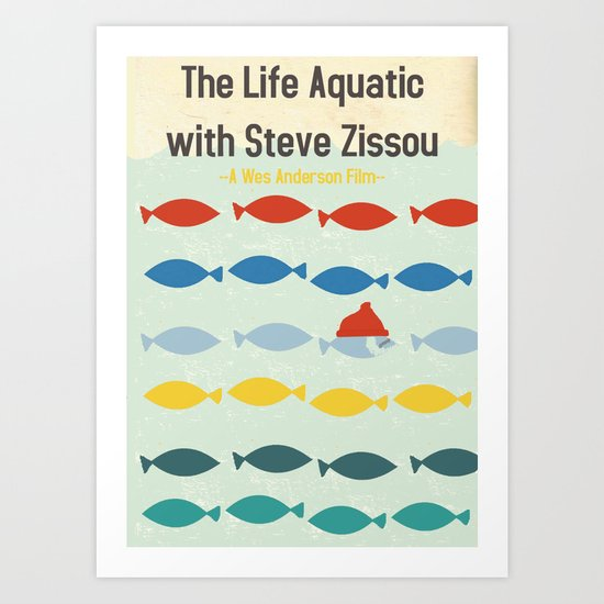 """The Life Aquatic""  Art Print"