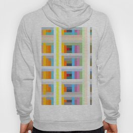 colorful geometric pattern design Negret Hoody