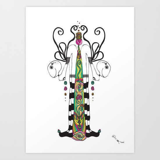 Bipartition Art Print
