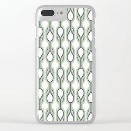 Retro-Delight - Double Drops - Mint Clear iPhone Case