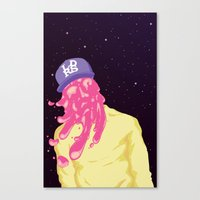 chance the rapper Canvas Prints featuring Chance by Popsicle Illusion
