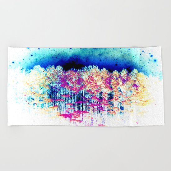 The Other Side of Reality Beach Towel