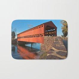 Sachs Covered Bridge Bath Mat