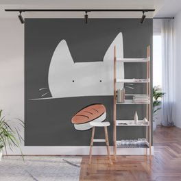 Sushi is mine - filled Wall Mural