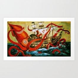 The Attack Art Print