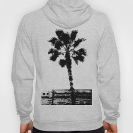 Black & White Palm Hoody