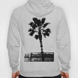 Black & White Palm Hoody