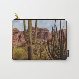 Cacti Variety Carry-All Pouch
