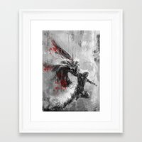 thor Framed Art Prints featuring Thor by Wisesnail