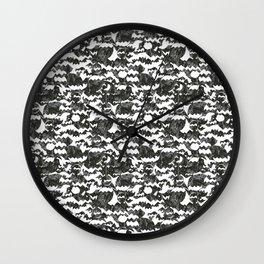 batmanvspacman Wall Clock