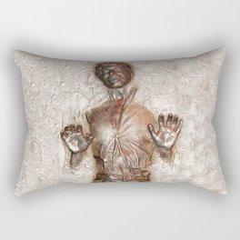 Han Solo In Carbonite Rectangular Pillow