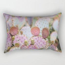 Cotton Candy Cacti Rectangular Pillow