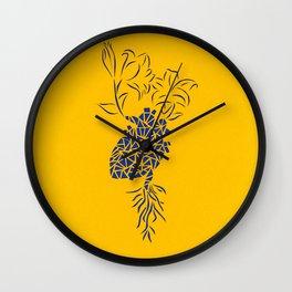 Delve Wall Clock