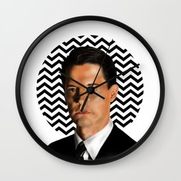 Special Agent Dale Cooper - Twin Peaks Wall Clock