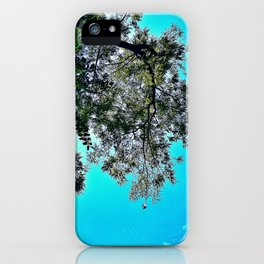 Nature Falls in Love with the Sky iPhone Case