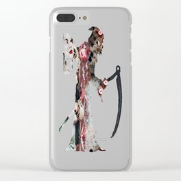 Bloody Smoke Clear iPhone Case