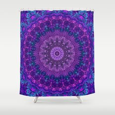 Harmony in Purple Shower Curtain